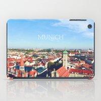 Munich skyline iPad Case