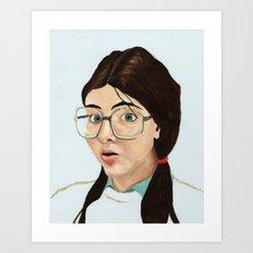 Yearbook 80, Science Lab Art Print
