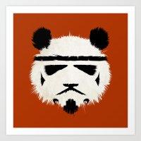 panda Art Prints featuring Panda Trooper by The Art of Danny Haas
