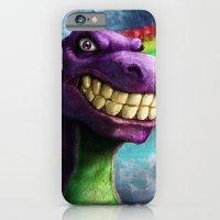 Barney the dinosaur iPhone 6 Slim Case
