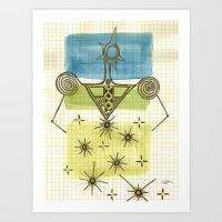 Woman_1 Art Print