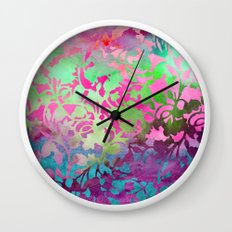 Earth Watercolor by Jacqueline Maldonado & Garima Dhawan Wall Clock