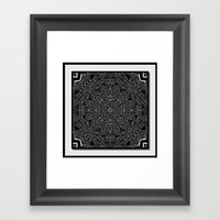 Tiki Print Framed Art Print