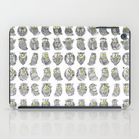 Sleepy Owls iPad Case