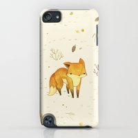 iPhone Cases featuring Lonely Winter Fox by Teagan White