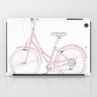 Pink Bike iPad Case