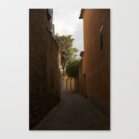 Streets of Italy Canvas Print
