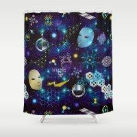 Cosmic Trip Shower Curtain