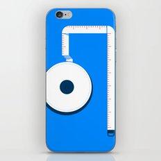 Measuring Tape iPhone & iPod Skin