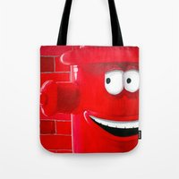 Right Back Tote Bag