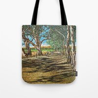 Shaded Path, Nuriootpa Tote Bag