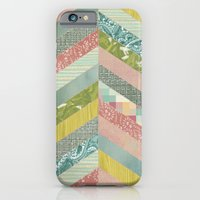 iPhone & iPod Case featuring Chevron Pattern by Elephant Trunk Studio
