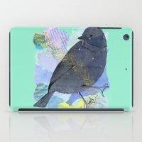 Vinter fugl iPad Case