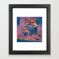 MECHANICAL TURK4 (everyd… Framed Art Print