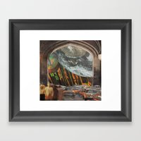 We're All Just Passing T… Framed Art Print