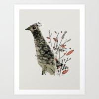 Gamebird Art Print