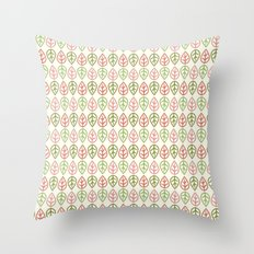 Greenwood leaf Throw Pillow