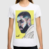 Drake Womens Fitted Tee Ash Grey SMALL
