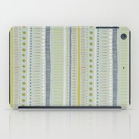 Teal & Green Pattern iPad Case