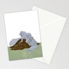 Pelean Volcanic Eruption Stationery Cards