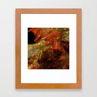 Dehiscence 14 Framed Art Print