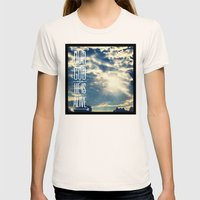 728b Womens Fitted Tee Natural SMALL