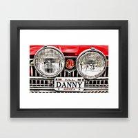 MG Danny Framed Art Print
