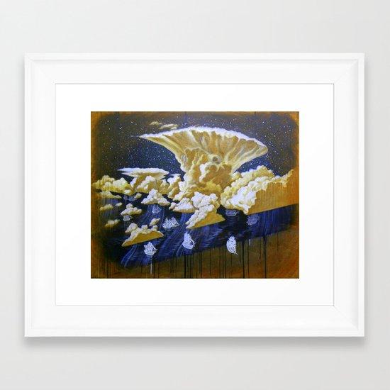 """""""Cold Front"""" Framed Art Print"""