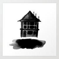 Floating Home Art Print