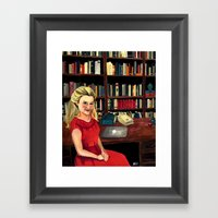 Miss Mannell Framed Art Print