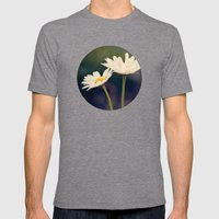 Two Daisies Mens Fitted Tee Tri-Grey SMALL