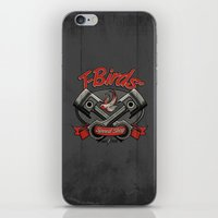 T-Birds' Speed Shop iPhone & iPod Skin