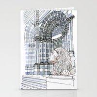 Il Leone Di S.Lorenzo (g… Stationery Cards