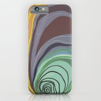 iPhone & iPod Case featuring Tree Stump Series 1 - Illustration by Angelina Bowen