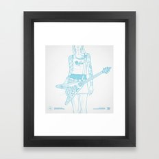 SKETCH Nº018 Framed Art Print