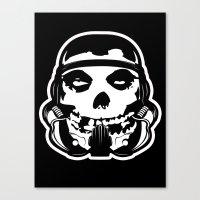 MisFit Trooper Canvas Print