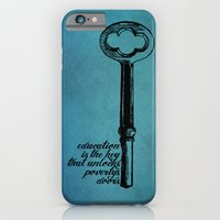 iPhone & iPod Case featuring Education Key. by Will Hill