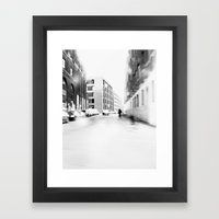 Vanish Framed Art Print