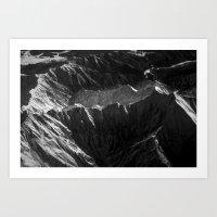 Mountains in Japan Art Print