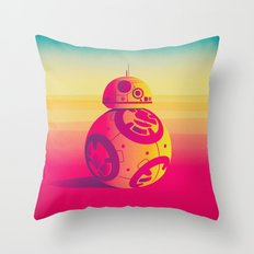 Droid Throw Pillow