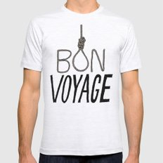 Bon Voyage Mens Fitted Tee Ash Grey SMALL