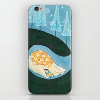 Hibernating Together iPhone & iPod Skin