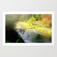Autumn In The Otway Rang… Art Print
