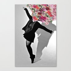 Dancing Flowers Canvas Print