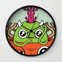 Monster Mind Wall Clock