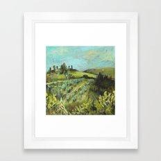 Campagna Framed Art Print