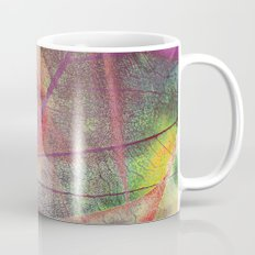 Colored dry leaf Mug