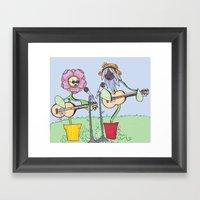 Woodstock Garden Framed Art Print
