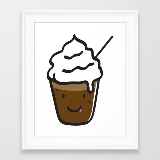 Frappuccino Framed Art Print