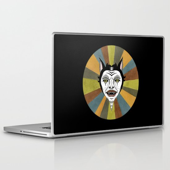 Cat Color Wheel No. 1 Laptop & iPad Skin